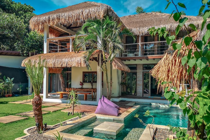 *NEW*High-End 3BR Private Pool VILLA-GILI AIR