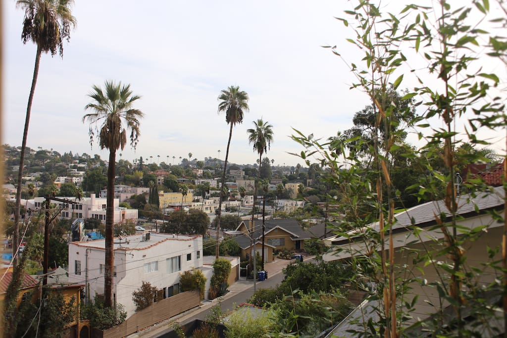 Eastern apartment view of Silverlake Hills.