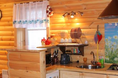 Гостевой домик с баней ЗимаЛето