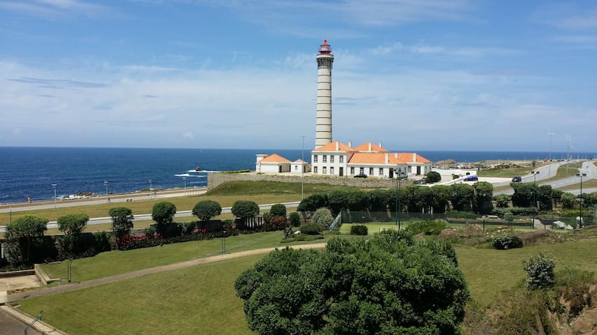 Private complex with swimming pools, on the Beach. - Leça da Palmeira - Wohnung