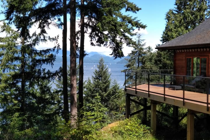 Bowen Island Home with a View