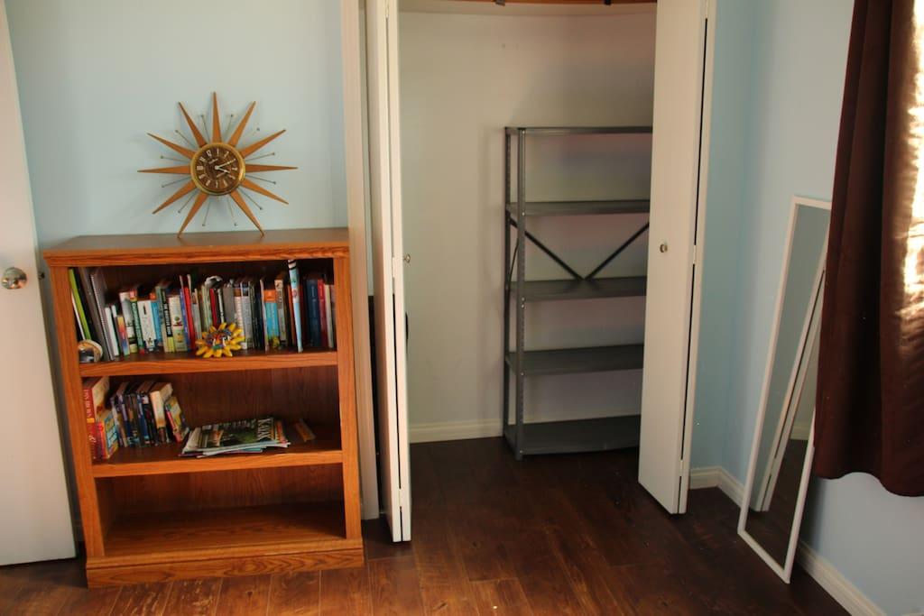 Closet in private room