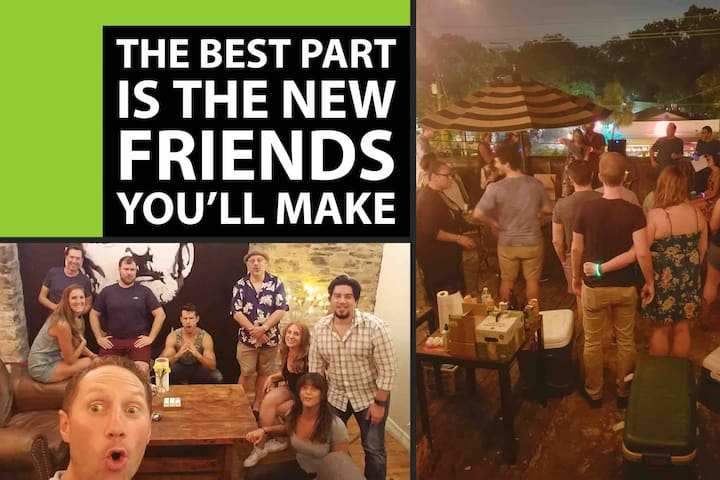 ★ Stay With New Friends in Best Austin Location ★