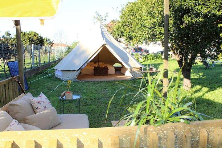Fino Seixo, koninklijk kamperen tent 1