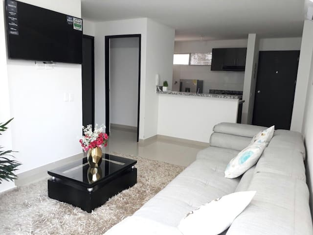 Comfy 2 bedroom apartment in Cartagena
