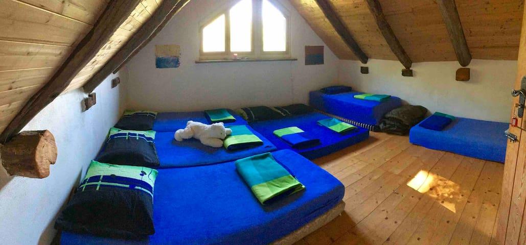 Casa Edita auf der Alpe Soladino