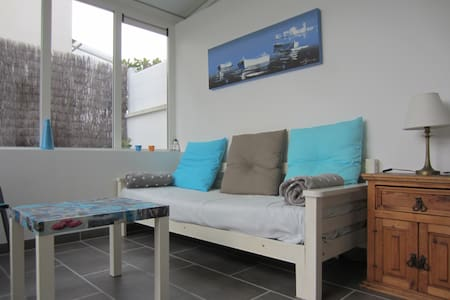 In a house with a small garden... - Wohnung
