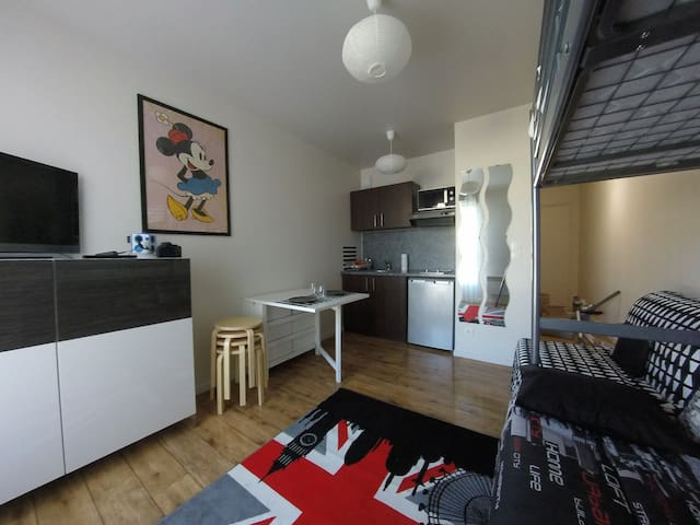 Studio 4 People VERY near Disneyland Paris - Montévrain - Apartment