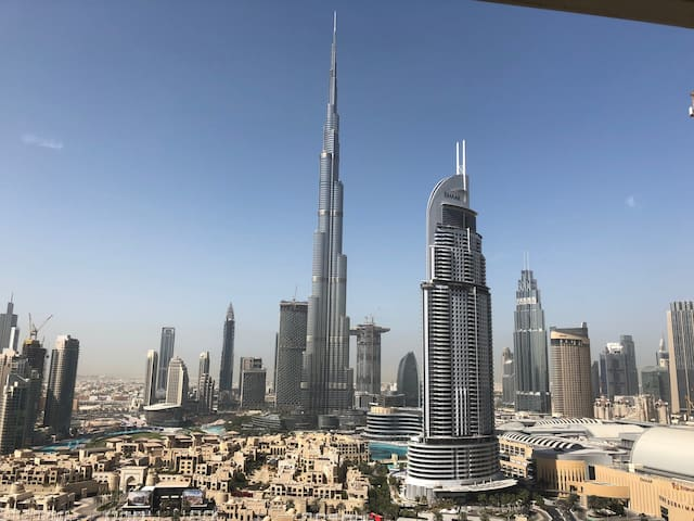 Private room/ splendid burj khalifa view/downtown