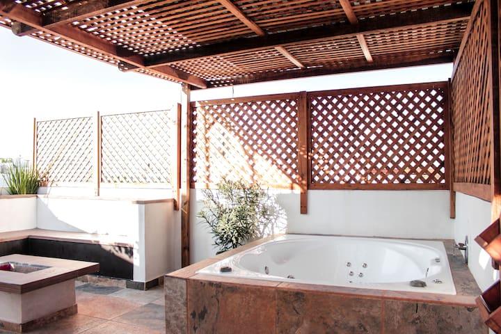 Tequesmagico Casa c/Increíble Jacuzzi Privado