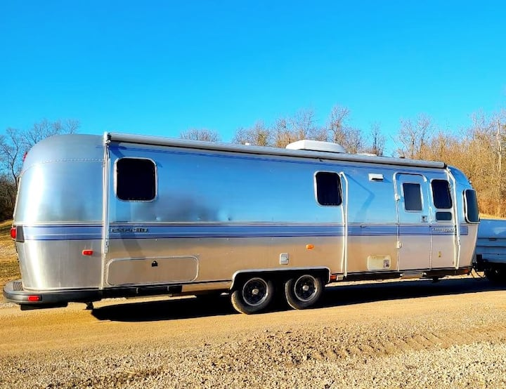 The Marie at an Airstream Resort in Derby City