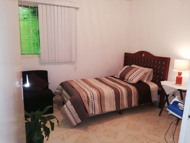 Acogedora habitación individual