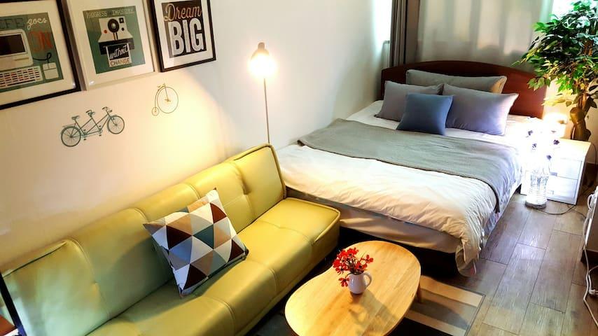 [SEOUL STN 2min] #4 Cozy, graceful House, Free Egg - Yongsan-gu - Appartement