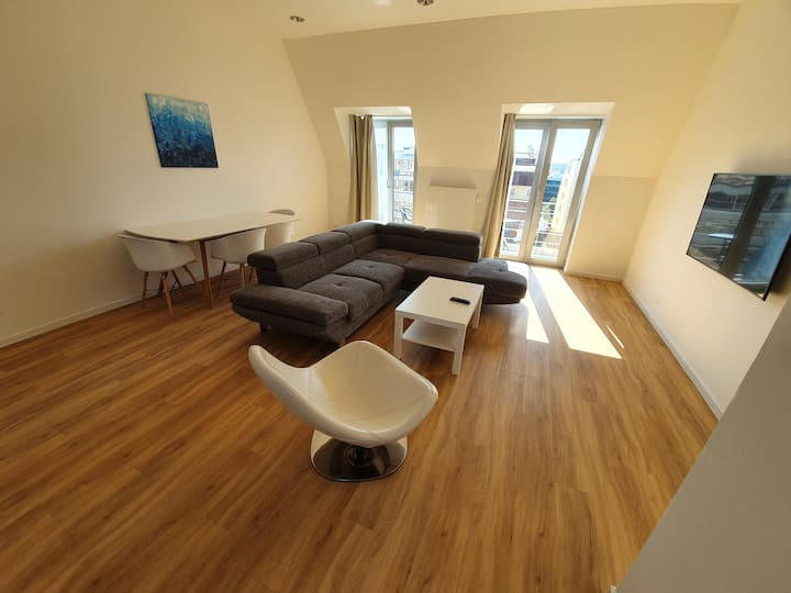 Luxury apartment with Wencelass square view