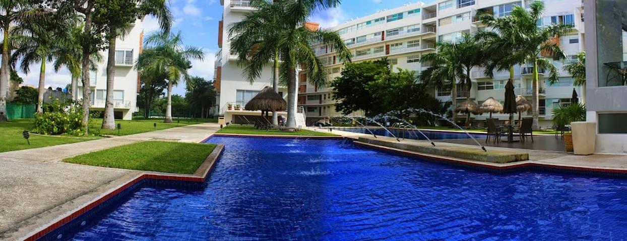 Departamento de Lujo en la mejor Zona de Cancun - Cancún - Apartemen