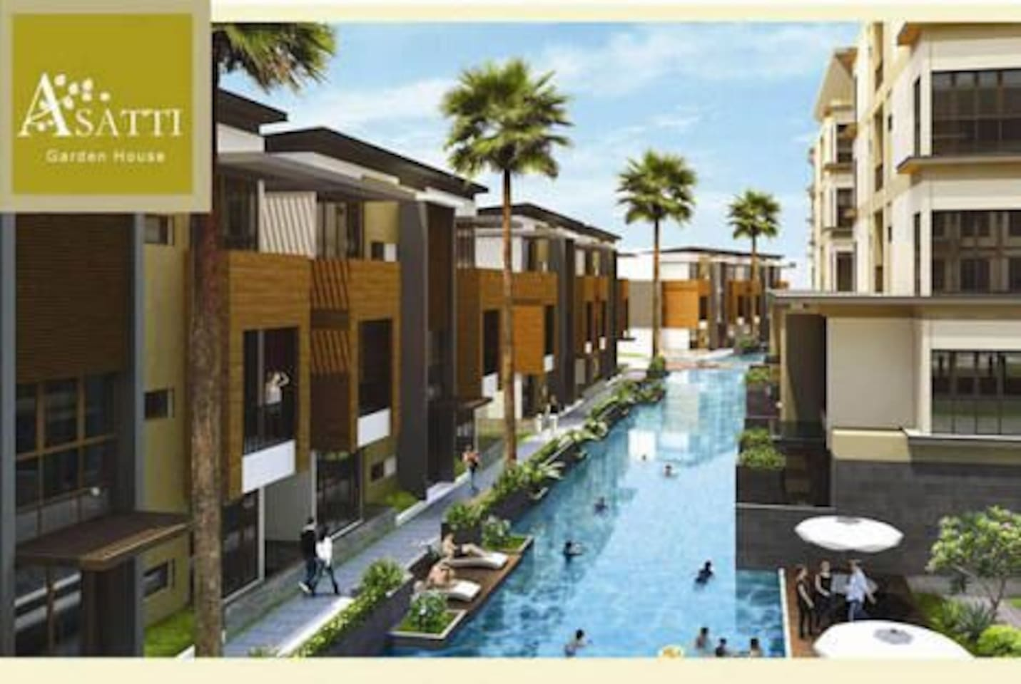 New Apartment in the Heart of BSD City - Apartments for Rent in ...