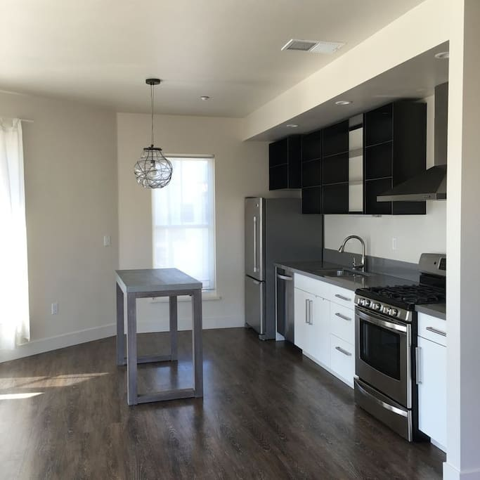 Brand new kitchen with all appliances (shared with house mates)