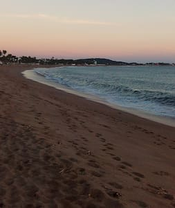 Espaciosa casa frente a la playa. - San Patricio