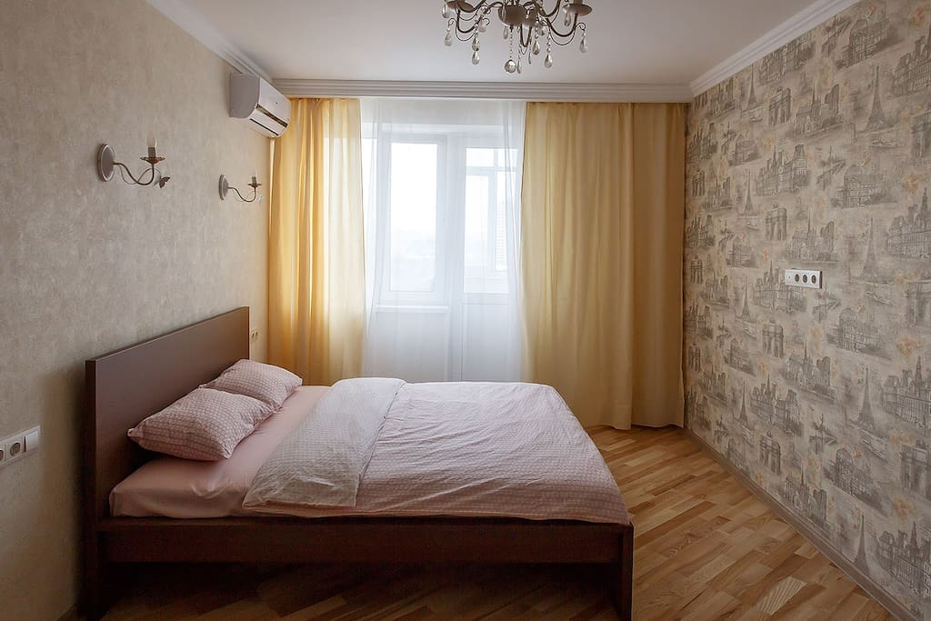 Room with double bed 160x200 cm + extra bed by request