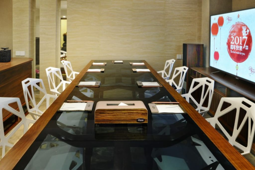 别墅公共区域用餐区