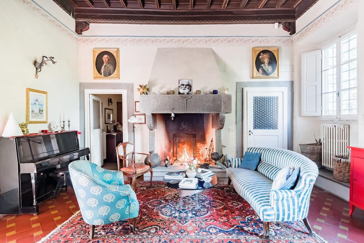 Suite in 15th-Century Villa il Rossignolo