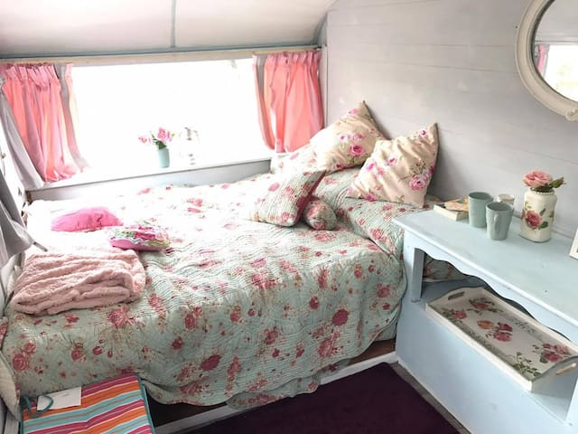 Retro Glamping on the Cavan Longford Border