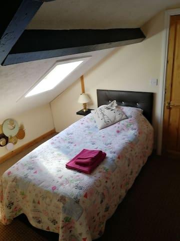 Ensuite attic room (opp train station) 8