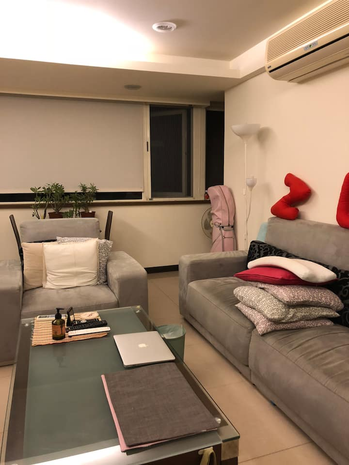 Cozy room in Hot spring spot in Taipei city