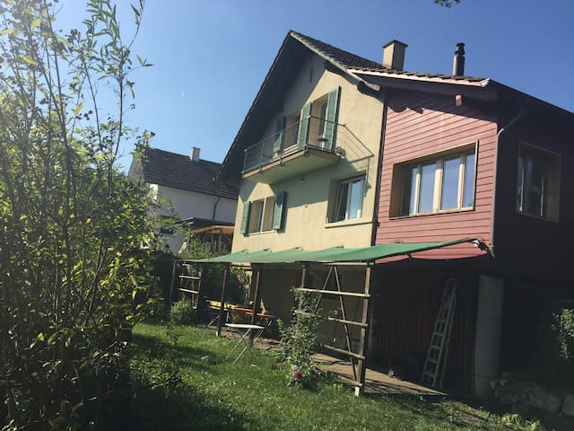 1 bedroom in house with garden near Basel