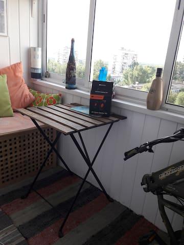 Уютная квартира рядом с метро Коломенская