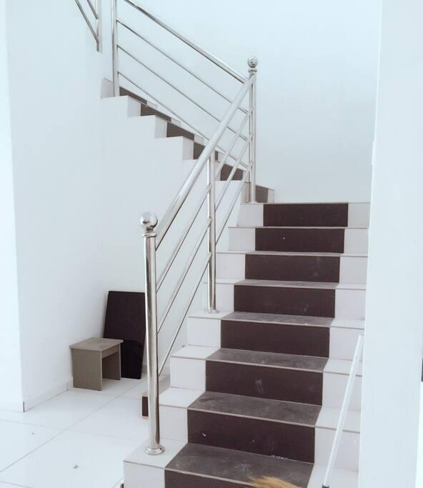 Staircase- 2 floor Terrance house
