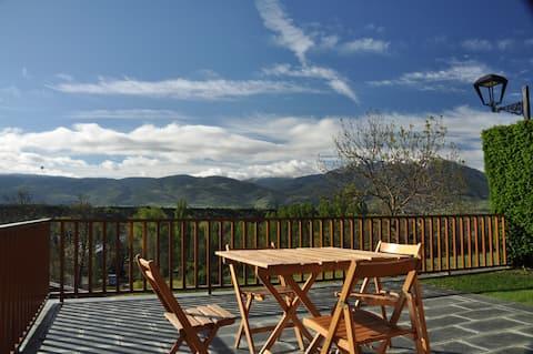 Schöner Ort mit großer Terrasse für Familien/Freunde