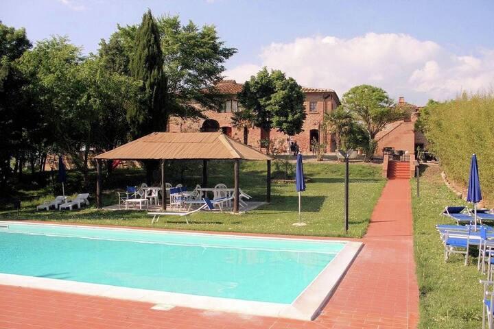 Schitterende agritoerisme in hartje Toscane