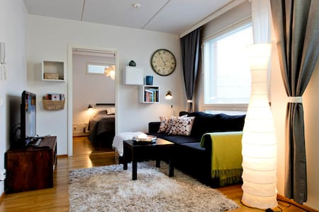 Cozy 1bedroom apartment w/ sauna in center of Oulu - Oulu - Apartment