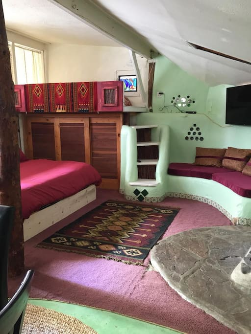 First Earthship Ever Built - Now Refurbished