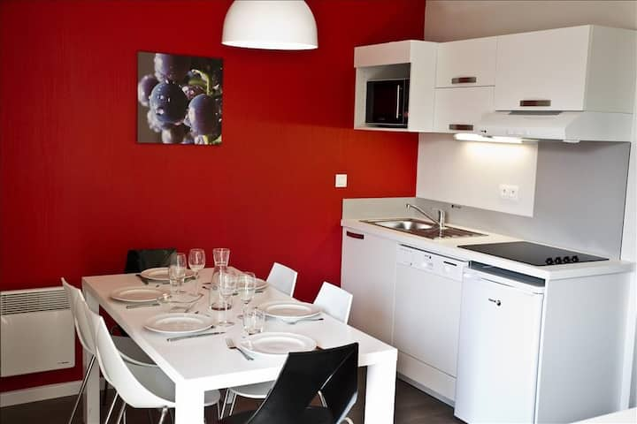 Apartment for 6 on the Alsatian Vineyard Route