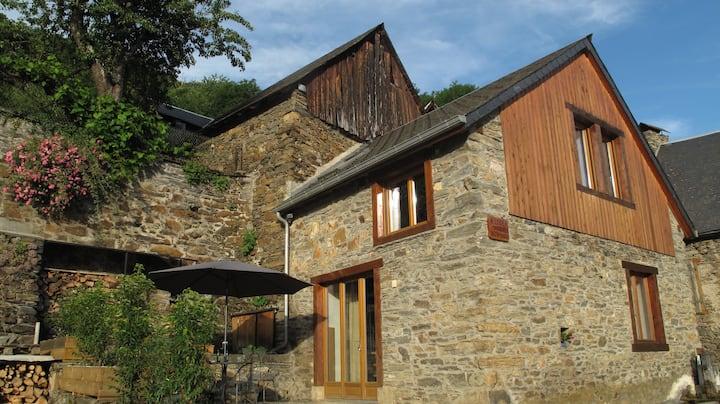 Maison de village en montagne