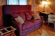 Or the extra bedroom with a sofa bed to use as your dressing room