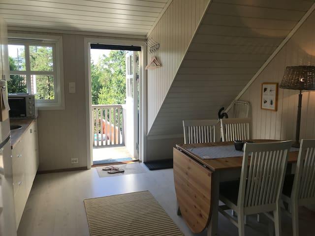 Delikat leilighet i idylliske Langenes