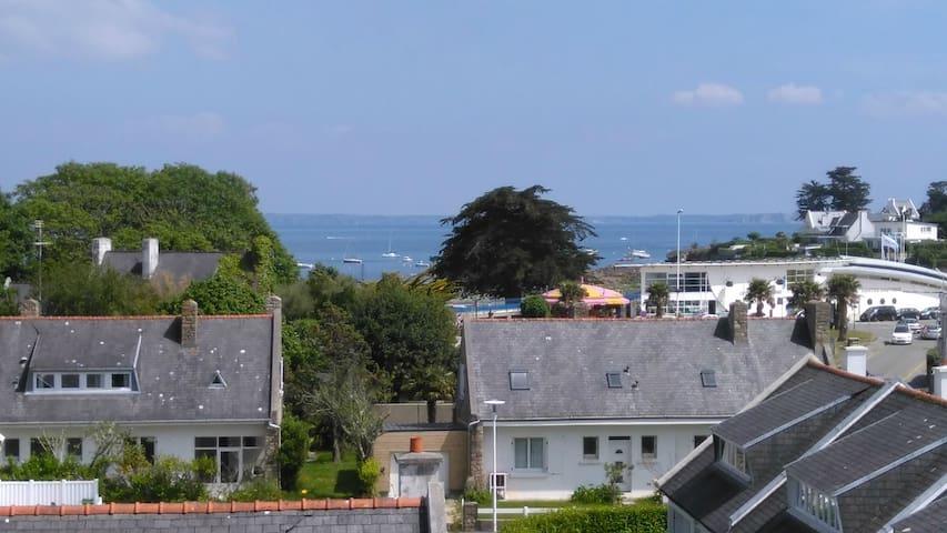 50m2 superbe vue mer à 300m de la plage - Plougonvelin