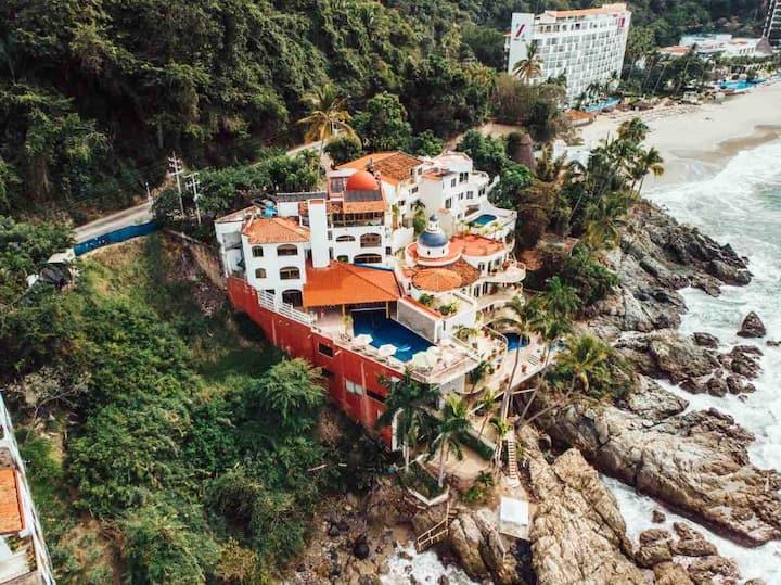 Puerto Vallarta Beachfront 10 rooms C-Testavailabl