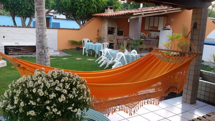 Condomínio Águas de Olivença.  Casa de praia Karla
