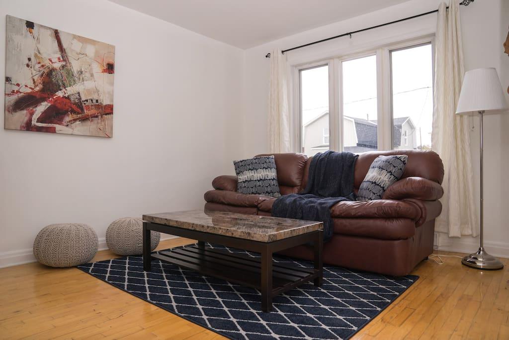 Cozy, Welcoming Living Room