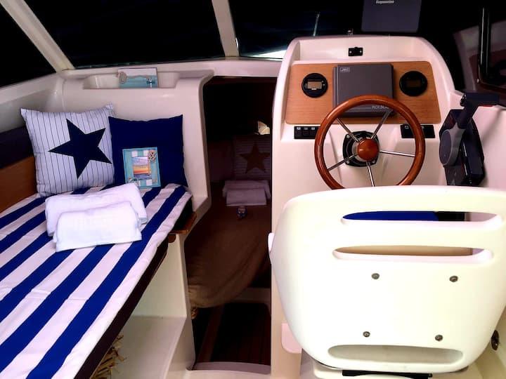 Sozinhos a bordo, barco em Setúbal