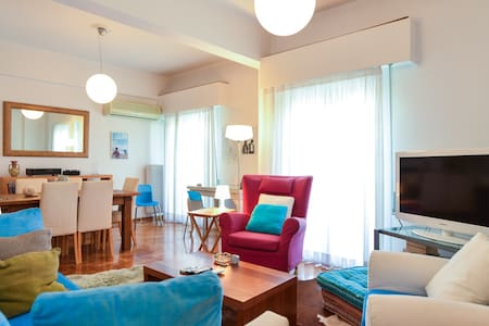 Athens Stylish aprt next to the beach and port - Paleo Faliro
