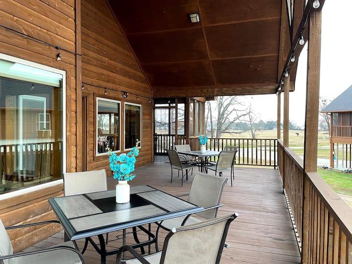 Our Stilt House at Lake Fork - 4BD & NEW Fire Pit!