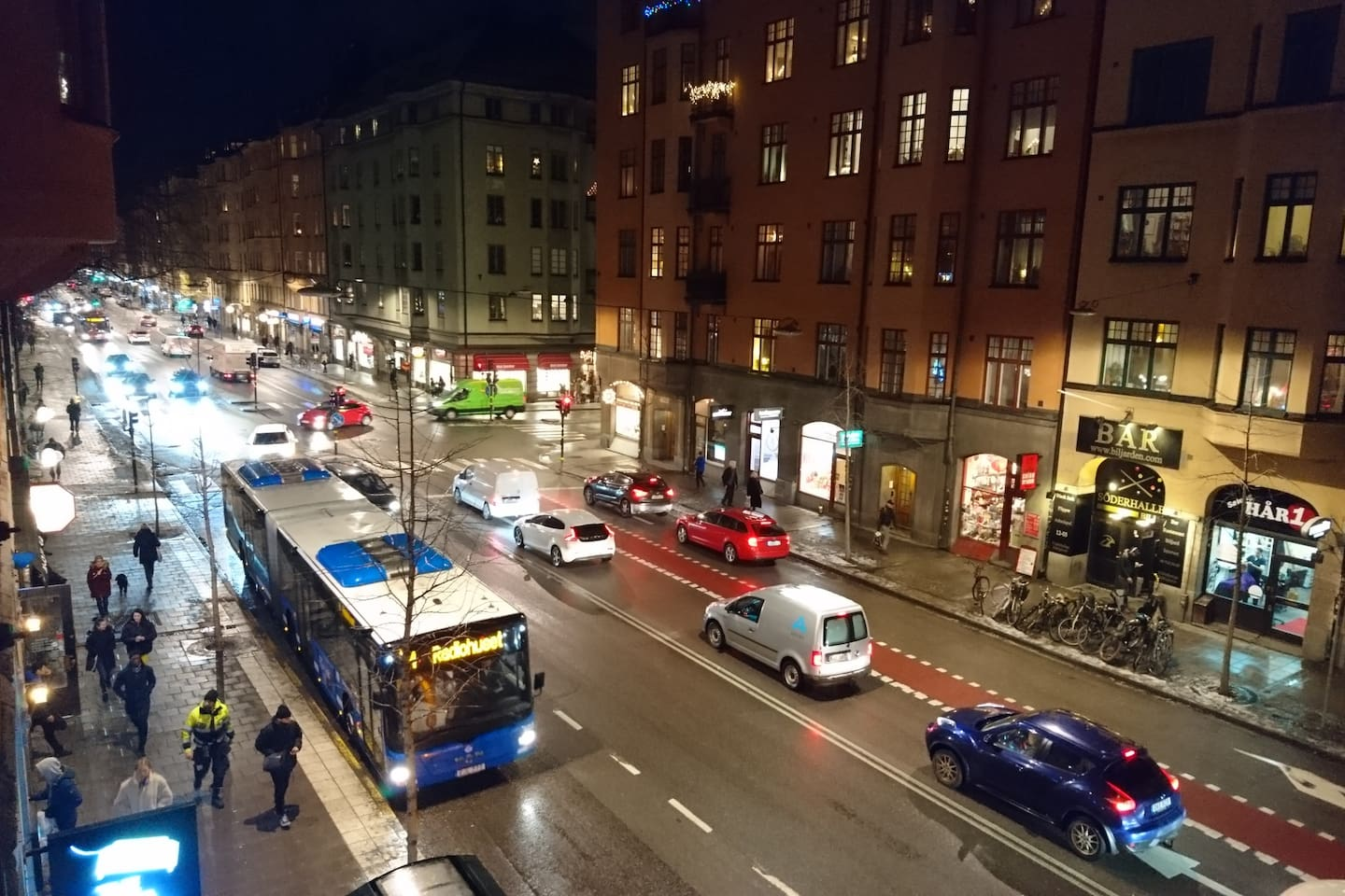 Hornsgatan is one the most liveliest streets of Södermalm, still with a genuine touch. Filled with cafés, bars, small shops and cheap places to eat.