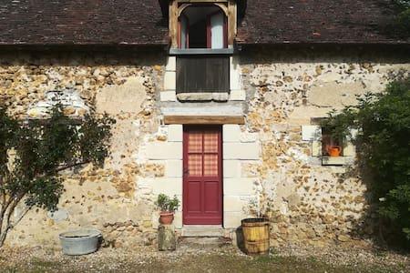 Studio dans maison en pierres à la campagne