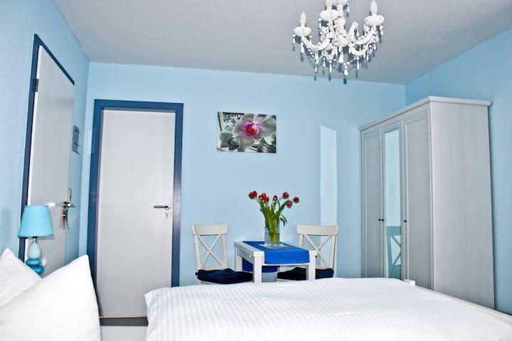 Doppelzimmer Rügen - Yoga und Meer - Kluis - Bed & Breakfast