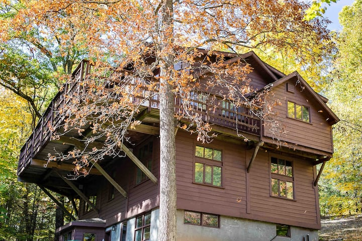 Byrdcliffe Arts Colony Retreat in the Catskills
